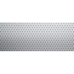 White (perforated)