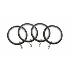 Black Ring (Pack of 4)
